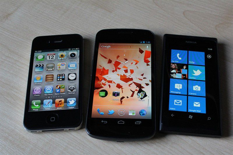 iOS Android Windows Phone