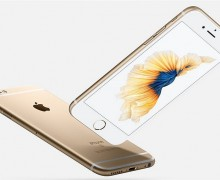 обзор iphone 6s gold