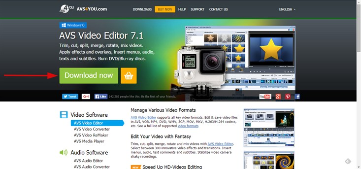 Download AVS Video Editor