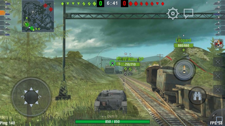 World of Tanks Blitz на s7
